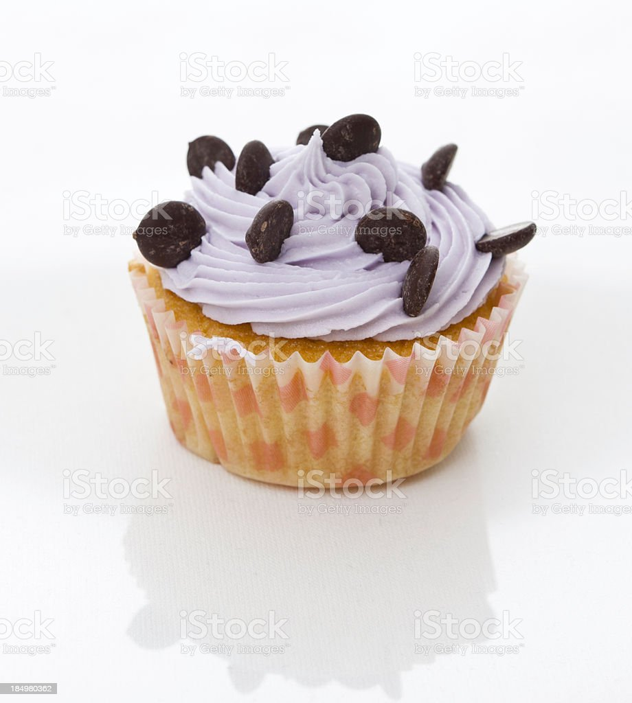 Single Cup Cake stock photo
