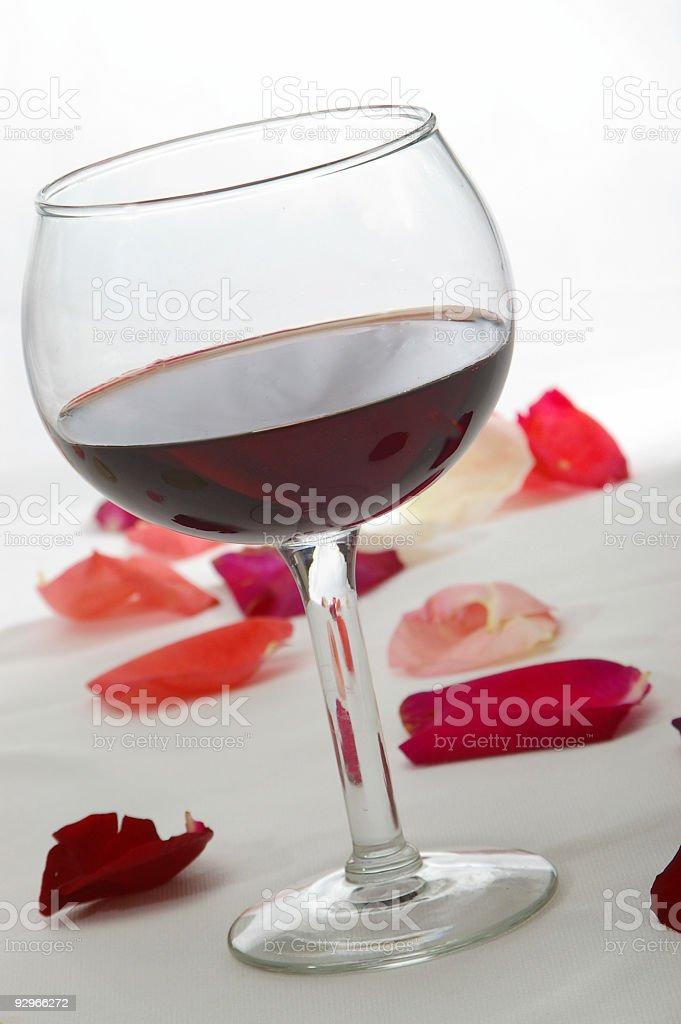 Single Deep Red royalty-free stock photo