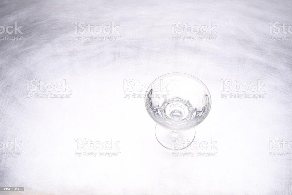 Single drinking glass royalty-free stock photo