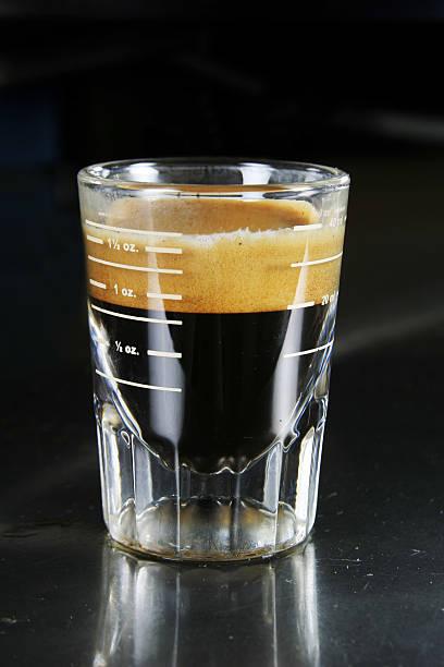 Single Espresso stock photo