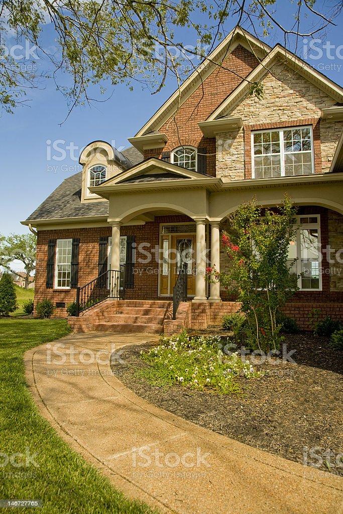 Single Family Home royalty-free stock photo