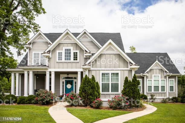 Photo of Single Family New Construction Home in Suburb Neighborhood in the South