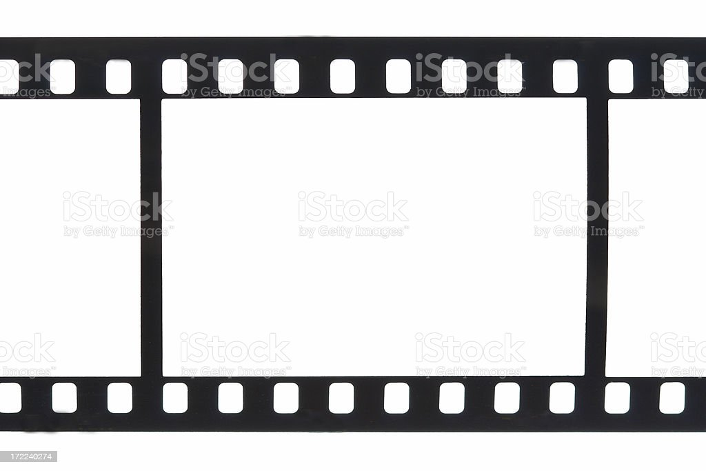 Single Frame 35mm Film Sprockets Stock Photo & More Pictures of ...