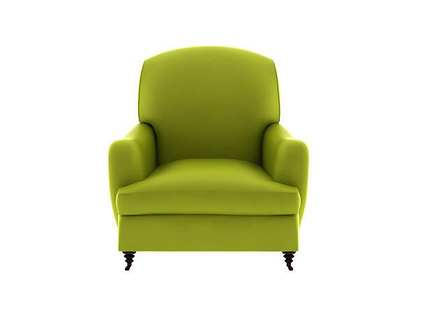 Un sofá de cuero - foto de stock
