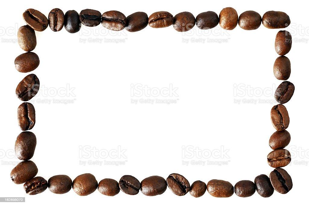 Coffee Bean Border ~ Single line coffee bean border stock photo more pictures
