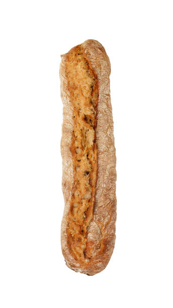 Artisan Bread Long Loaf Isolated Pictures Images And Stock Photos On White Background