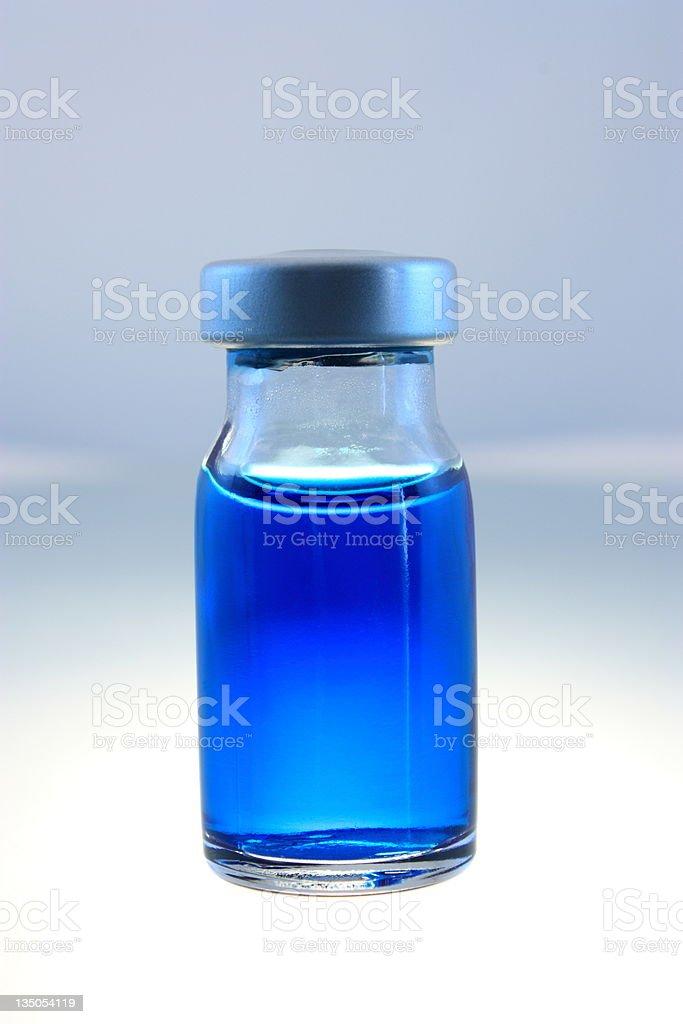 Single medical bottle royalty-free stock photo