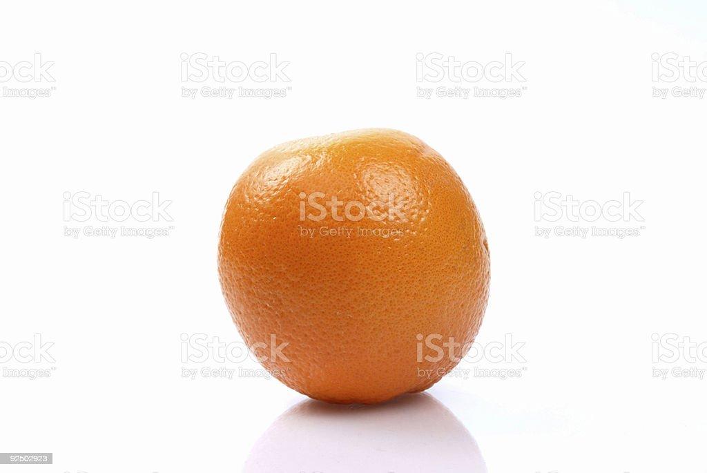 Single Orange royalty-free stock photo