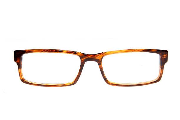 Single pair of glasses stock photo