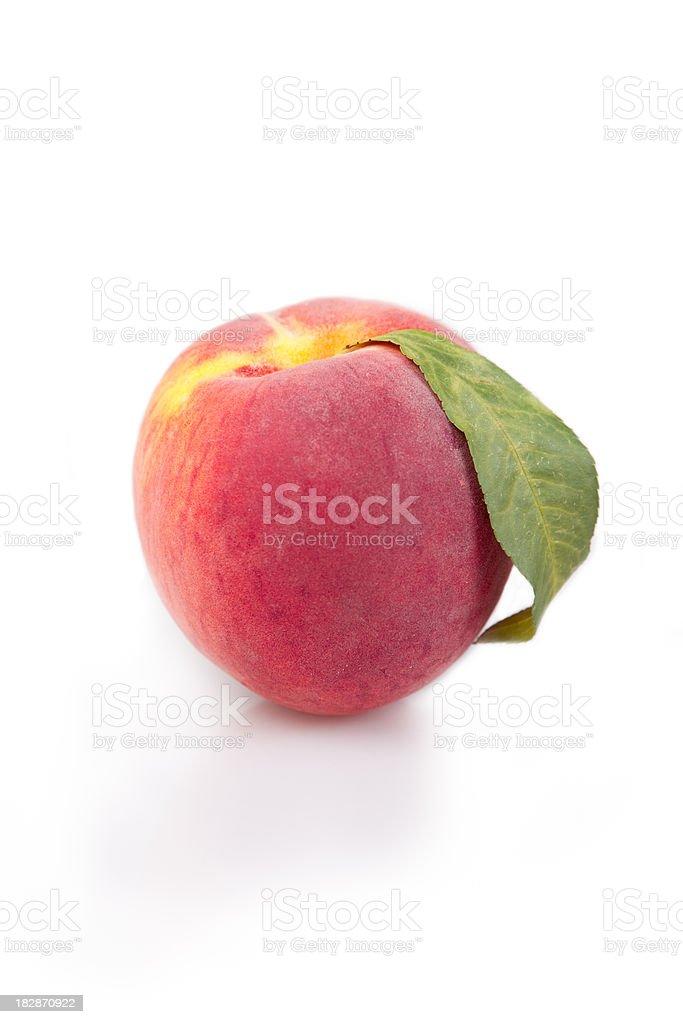 Single Peach royalty-free stock photo