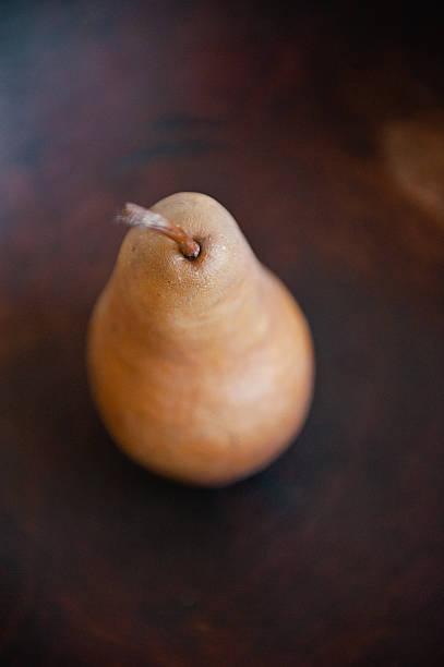 Single Pear stock photo