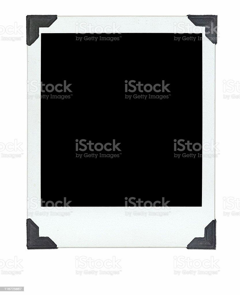 Single photo on paper background royalty-free stock photo