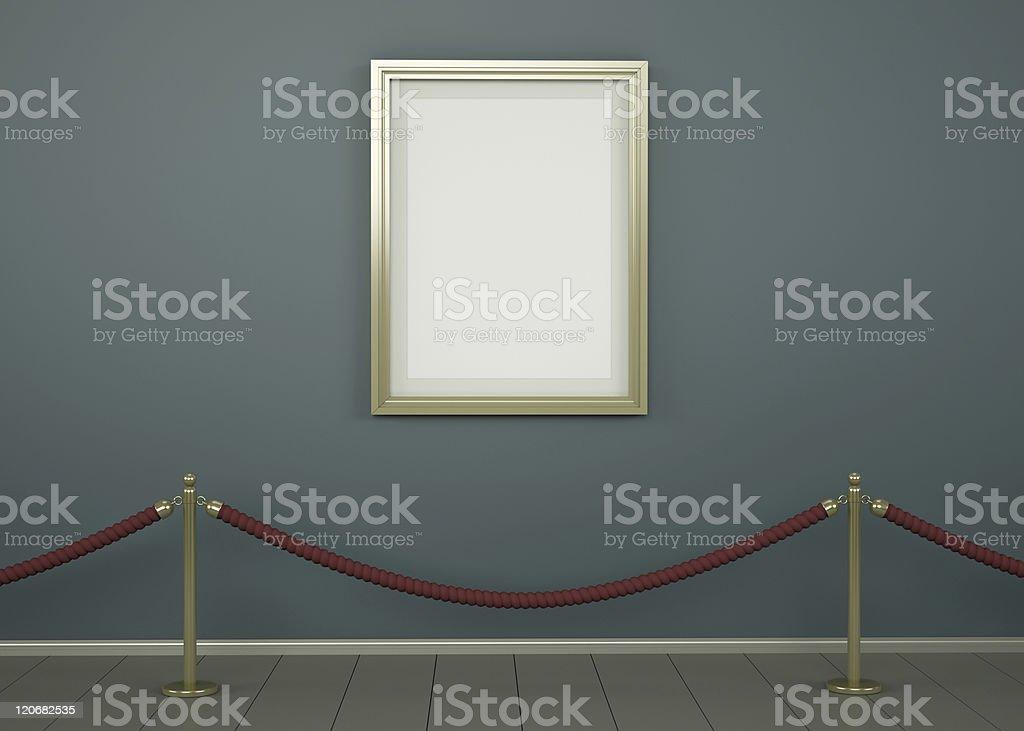 Einzelne Bild in einer Galerie – Foto