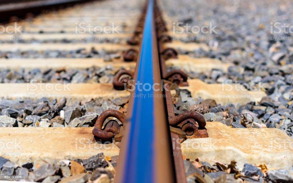 Single Rail stock photo