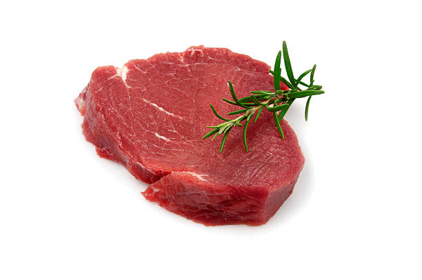 Single rohe Steak – Foto