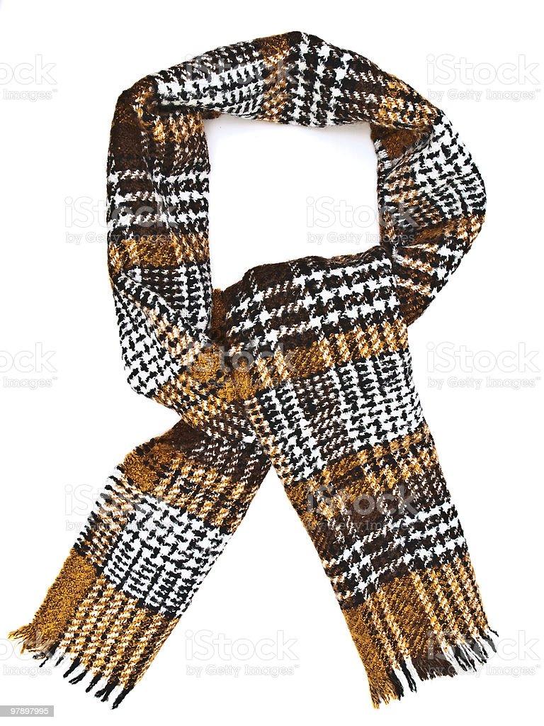 Single scarf royalty-free stock photo