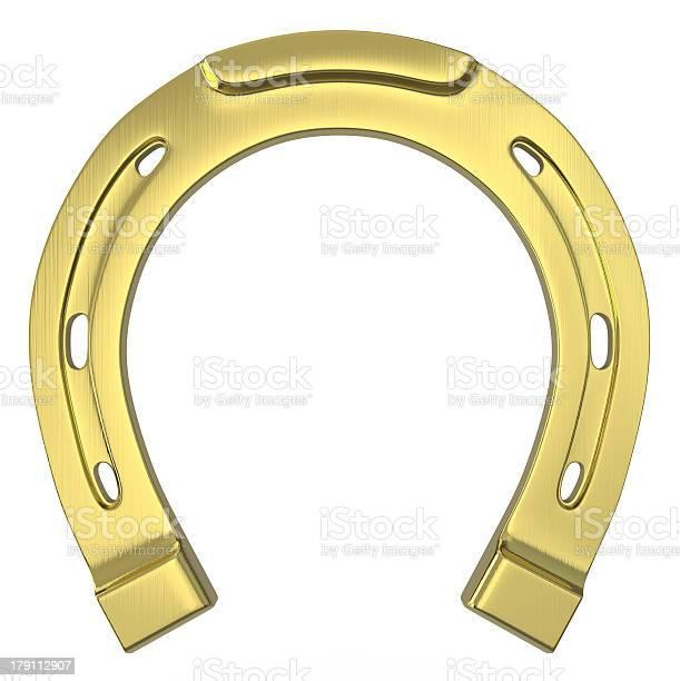 Single scratched golden horseshoe picture id179112907?b=1&k=6&m=179112907&s=612x612&h=m p wvvrm0sg7u p29wyzowycppxovvu ljoneub9no=