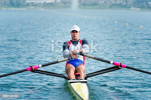 Single scull rowing - considered as most important discipline in competitive rowing and one of the oldest olympic sports.