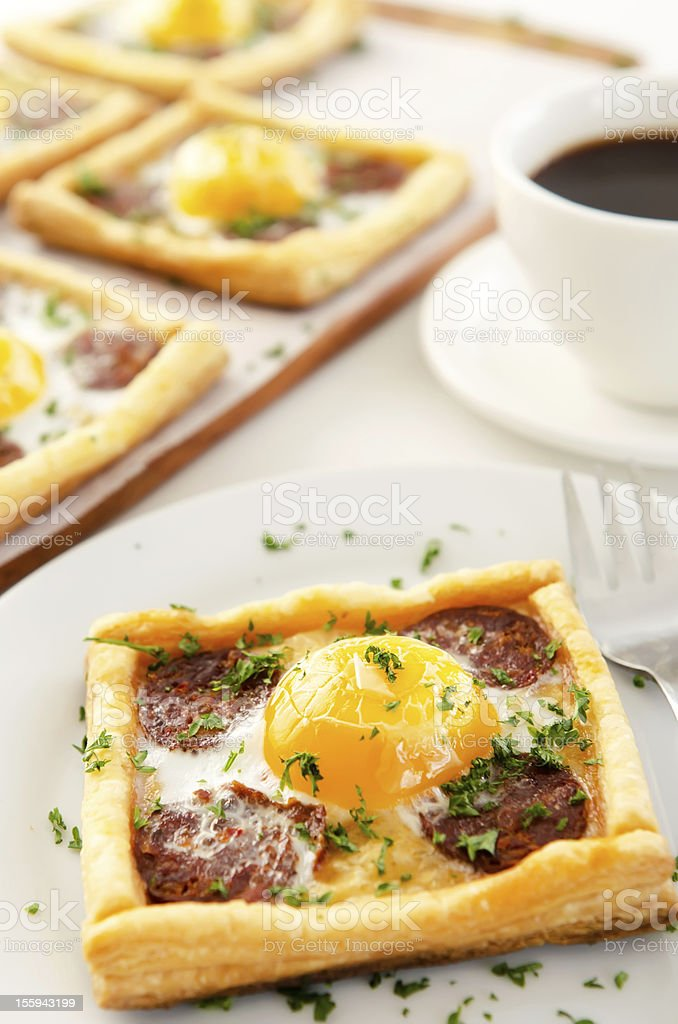 Single serving of breakfast royalty-free stock photo