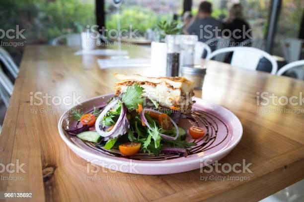 Single Serving Of Lasagna - Fotografias de stock e mais imagens de Austrália