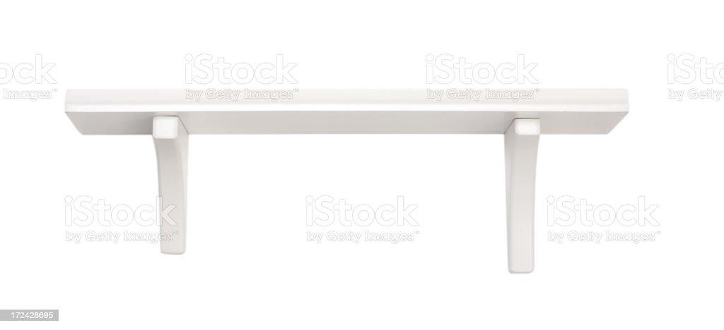 Single Shelf royalty-free stock photo