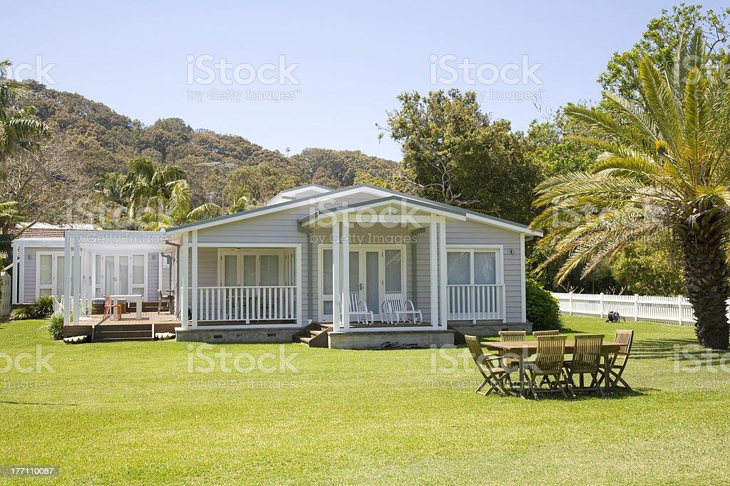 Seul hôtel sur la plage de storey - Photo
