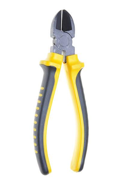 Single tool pliers stock photo
