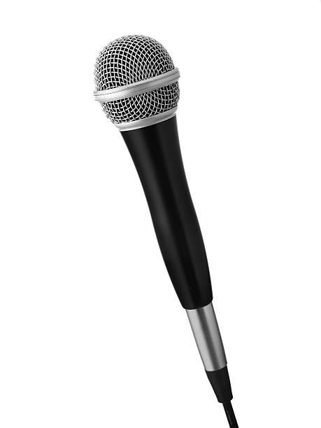 Schwarz Mikrofon – Foto
