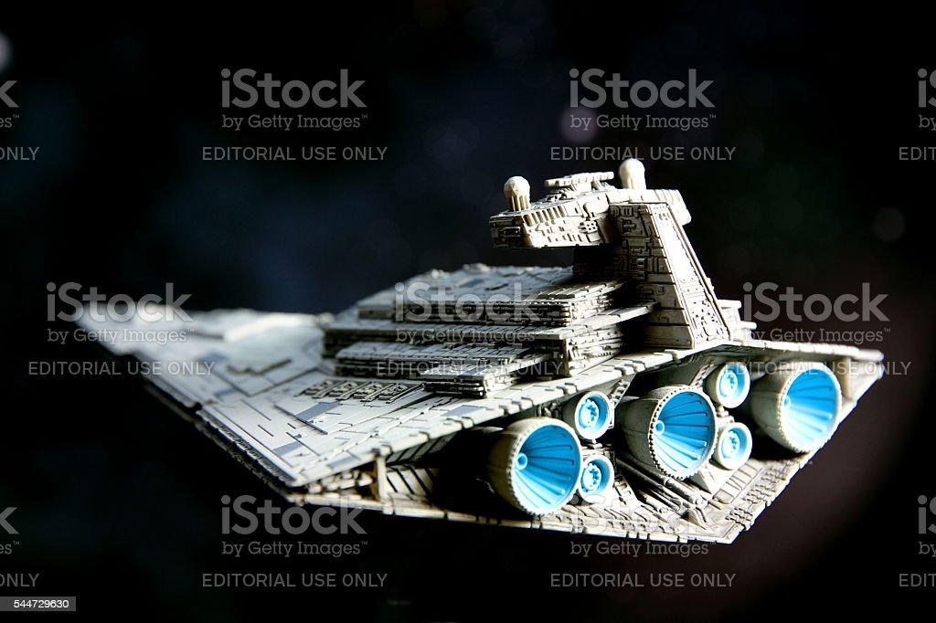 Sinister Starship stock photo