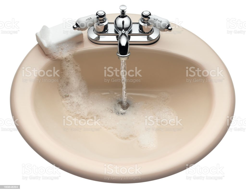Sink and Soap royalty-free stock photo