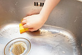 Sink cleaning image