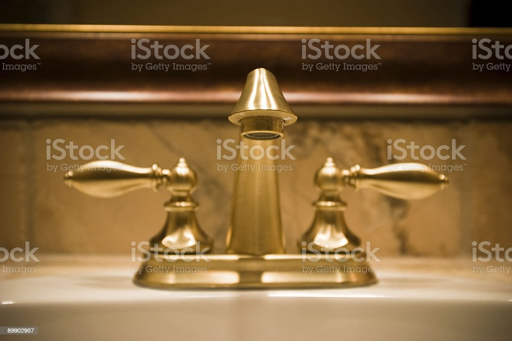Sink Faucet royalty-free stock photo