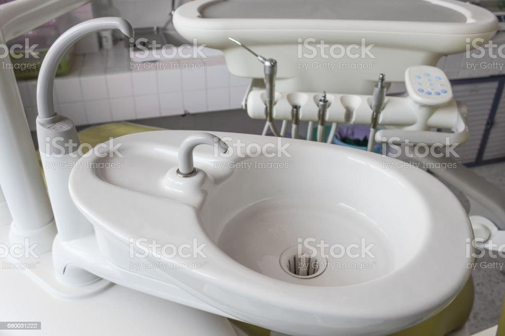 Fotografía de Fregadero De Dentista Del Equipo Médico Cerca Para ...