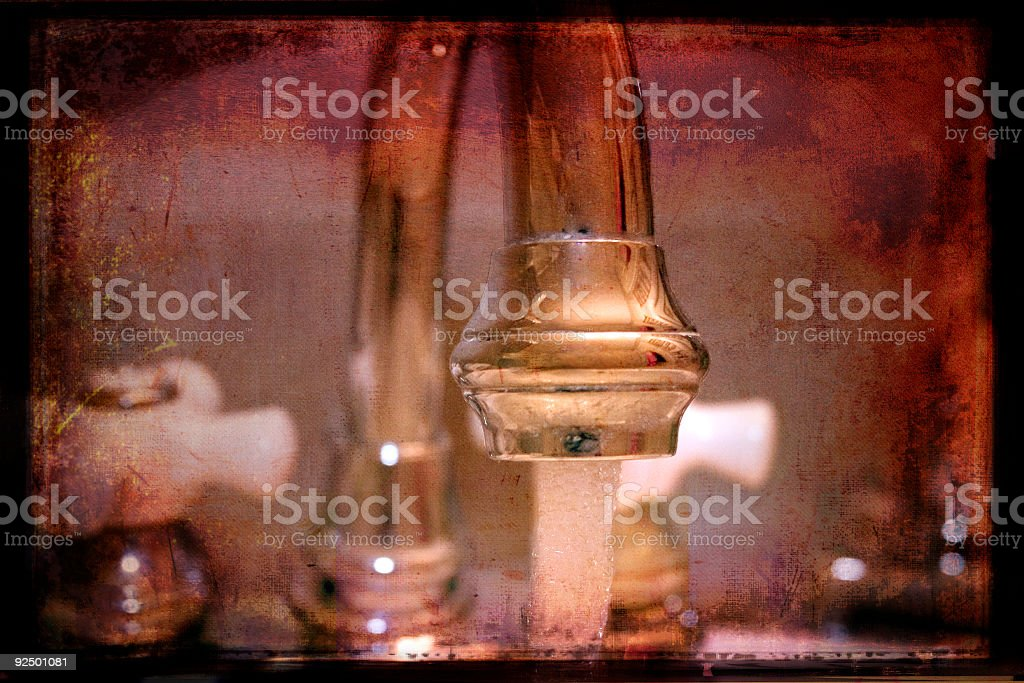Sink Reflections royalty-free stock photo