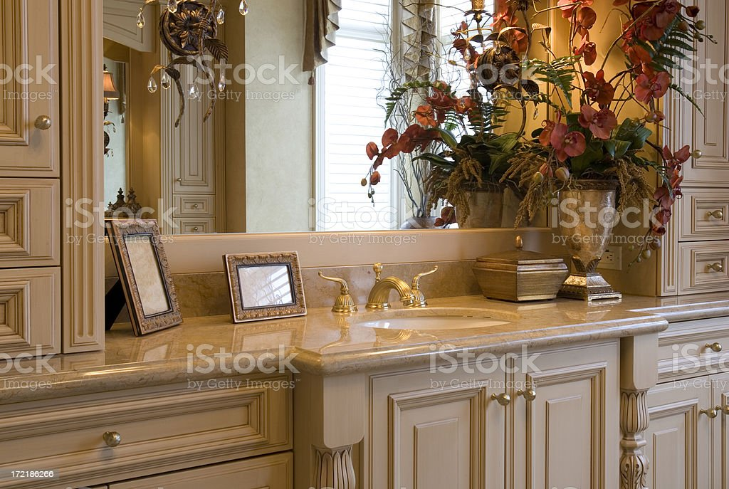 Sink Vanity royalty-free stock photo