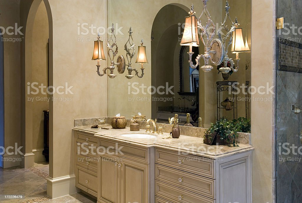 Sink Vanity stock photo