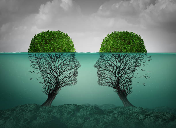 sinking relationship - detachment stock pictures, royalty-free photos & images
