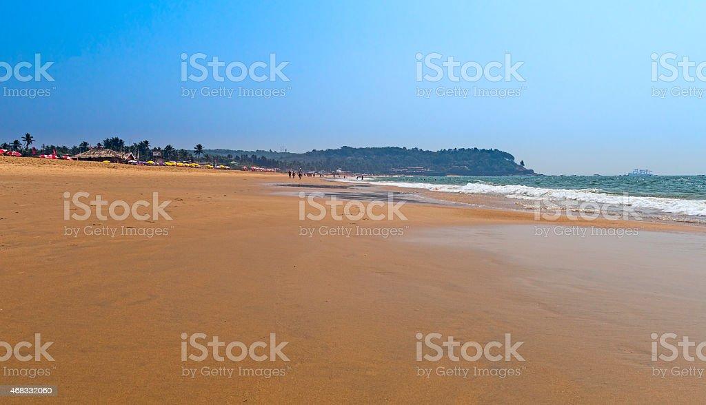 Sinquerim Beach stock photo