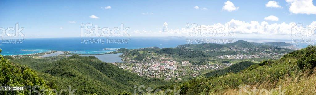 Sint Maarten Aerial stock photo