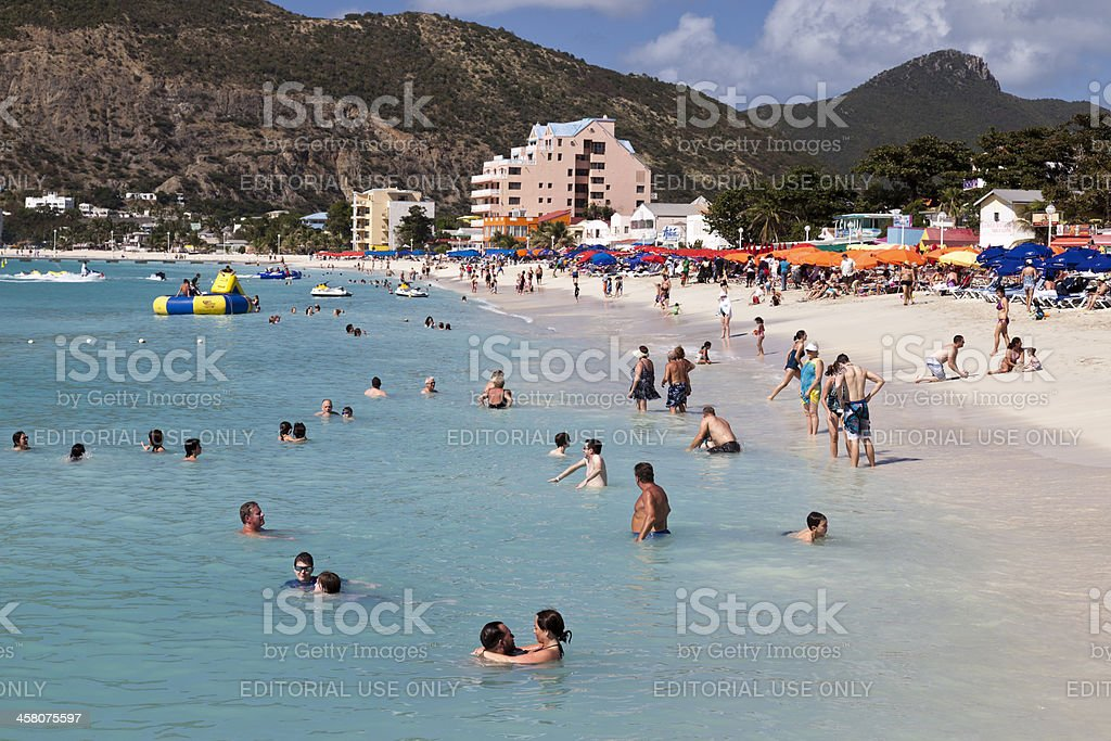 St. Kitts Fun in the Sun royalty-free stock photo