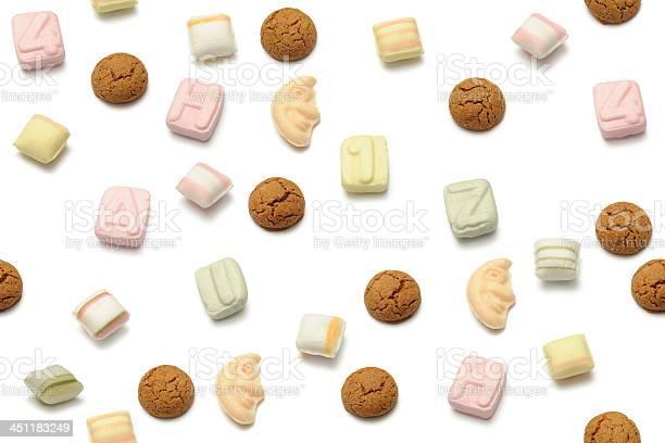 Sinterklaas Sweets Stockfoto en meer beelden van Achtergrond - Thema