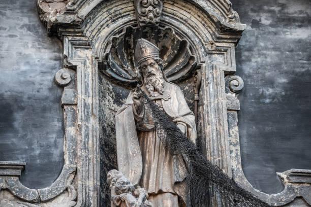 sint-niklaaskerk - église saint-nicolas, gand, belgique - saint nicolas photos et images de collection
