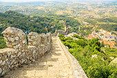 Sintra Moorish Castle wall