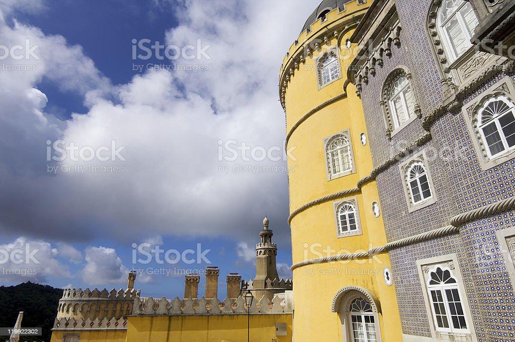 sintra palace royalty-free stock photo