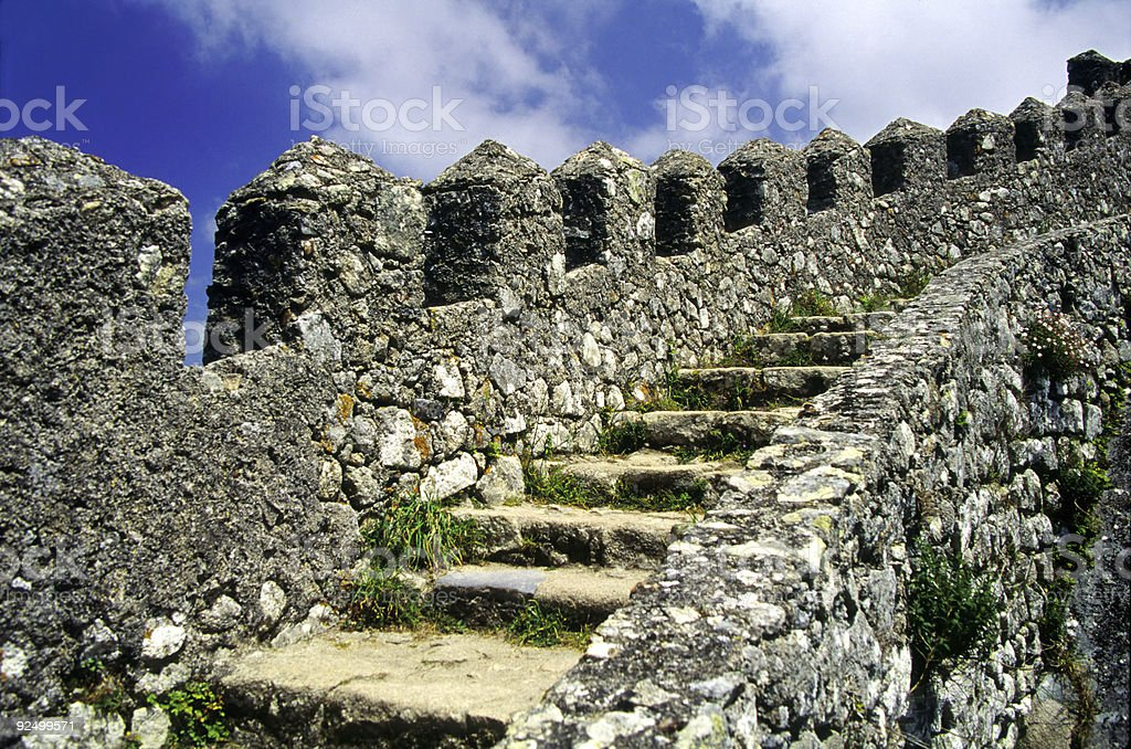 Sintra Stairs royalty-free stock photo