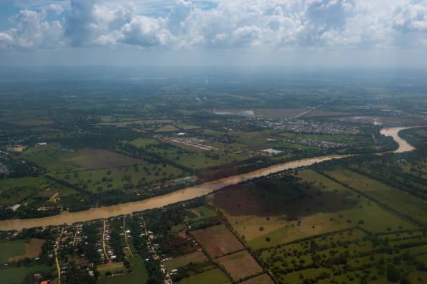 Sinu river in der Departamento Cordoba. Kolumbien. – Foto
