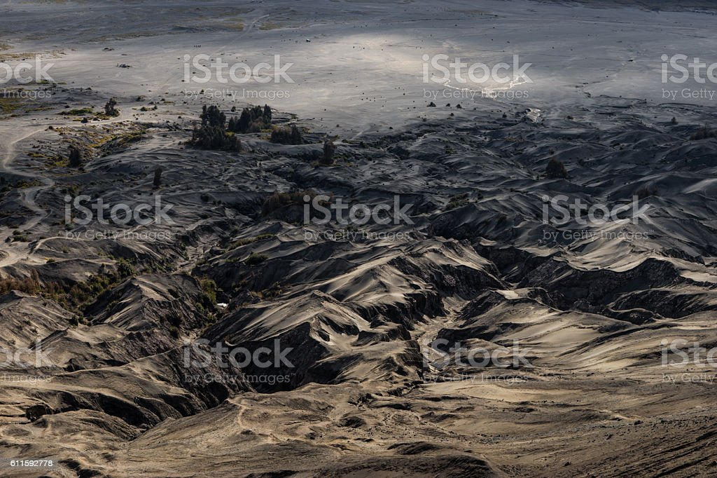 sinuous abstract landscape stock photo