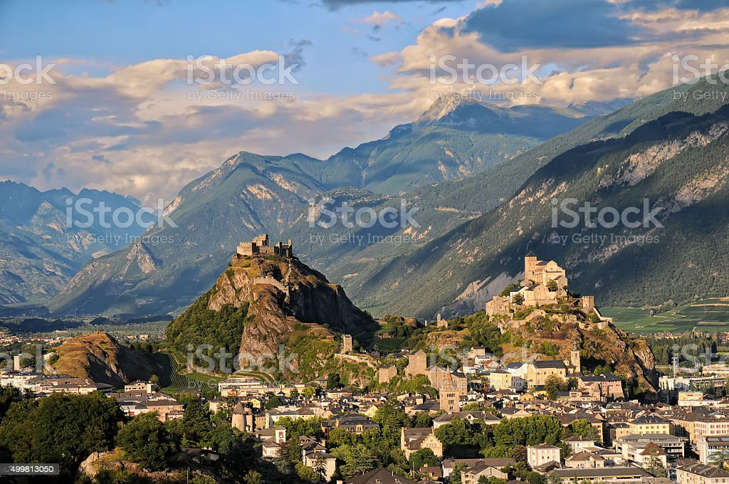 Sion stock photo