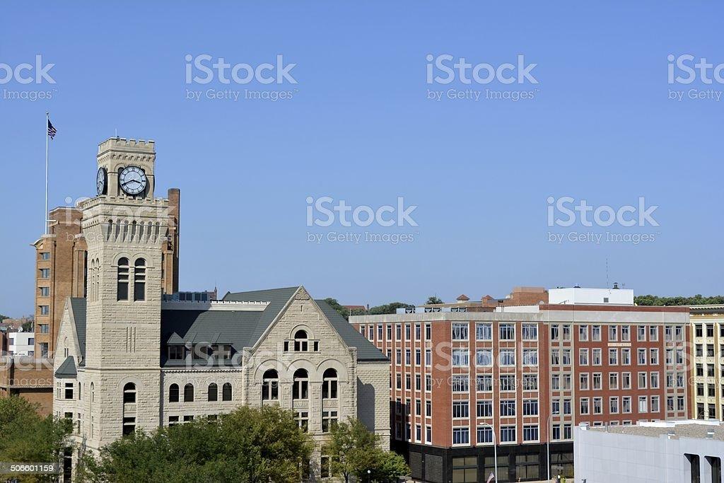 Sioux City Iowa stock photo