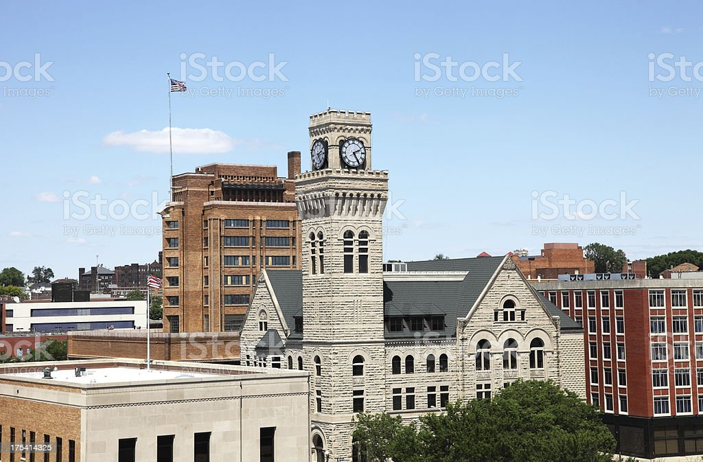 Sioux City stock photo